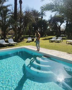 "1,205 mentions J'aime, 6 commentaires - SOFIA EL ARABI (@sofiaelarabii) sur Instagram: ""Morocco's Therapy 🌴...#bakchicthelabel #pool #home"""