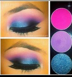 Oh, this is the best eye make up I have ever seen! Get on my eyes now! Gorgeous Makeup, Pretty Makeup, Love Makeup, Makeup Art, Makeup Tips, Beauty Makeup, Makeup Looks, Hair Makeup, Pink Makeup