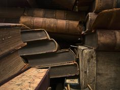 aged leather and yellow pages - John Manno