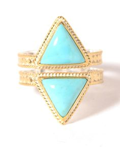 Anna Beck Double Turquoise Ring | South Moon Under