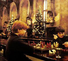 chess hogwart's style