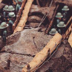 Poilus Playmobil #playmo #playmobilcastel #playmobil #collection #montage #guerre #soldat #militaire #guerremondiale #poilus #tranchées #marne #France #français #première #armée #arme