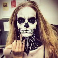 Skull Makeup: @Keira_Rowland