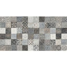 Dekor SAHARA LYS Grau 32x62,5 cm