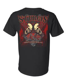 FTS Dark Fire Sturgis Rally Shirt T-shirt – Full Throttle Saloon