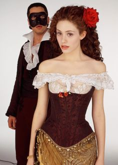 Phantom of the Opera - whether its performed live on stage or in a movie, Phantom of the Opera rocks!