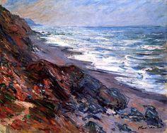 The Sea at Pourville Claude Oscar Monet - 1882