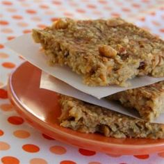 Banana Oat Energy Bars - Allrecipes.com