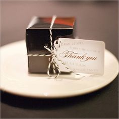 elegant favor boxes