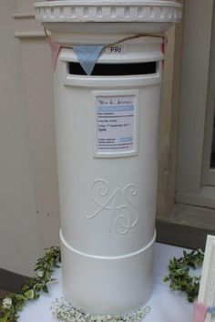 Wedding Post Box Made From HobbyCraft