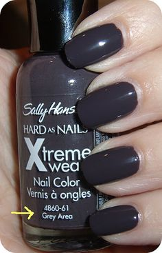 sally hansen nail polish in Grey Area