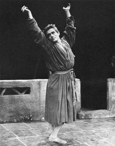... Dean as an Arab houseboy in the Broadway show 'The Immoralist' 1954