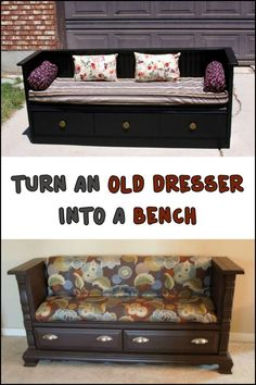 Upcycling is a great way to give new life to old furniture. Here's one project you can try...