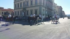 Riding in #Florence