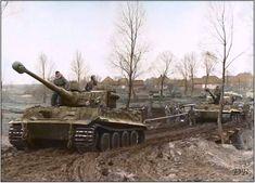Panzerkampwagen VI Tigers