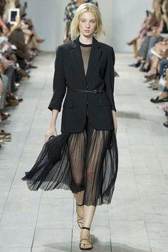 Snoop&Sparkle blog: waiting for Spring - Michael Kors black skirt and blazer