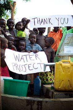 The Water Project is a ministry by Christians who provide clean water to people in Sub-Saharan Africa.