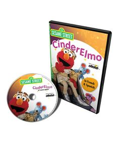 Take a look at this French & Spanish CinderElmo DVD by Sesame Street on #zulily today!