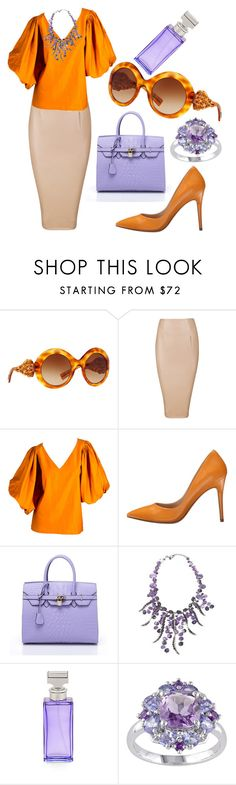 """""""Spring Chic"""" by ghostgypsy ❤ liked on Polyvore featuring Dolce&Gabbana, Yves Saint Laurent, Charles by Charles David and Calvin Klein"""