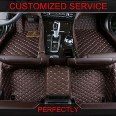 2013- Specially Custom Made Car Floor Mats For Honda Jade 3d All Weather Waterproof Car-styling Carpet Rugs Floor Liners A Great Variety Of Models