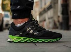 ADIDAS-SPRINGBLADE-DRIVE-2-MENS-RUNNING-TRAINERS-BLACK-UK-SIZE-9-13-5