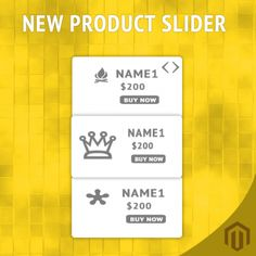 Magento New Product Vertical Scroller Extension showcases your new products in your left & right side bars.