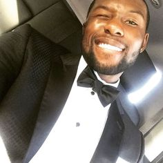 Trevante Rhodes  - It's Lit! These Celebrity Instagrams From The Golden Globes Are Giving Us Major FOMO