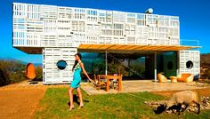 Manifesto House - recycled container home in Chile