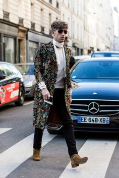 Street Style Paris Masculino - Inverno 2018 foto: FOTOSITE