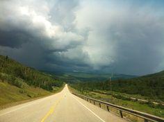 Storm coming....Grande Cache, Alberta, Canada