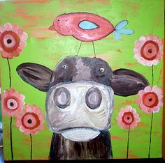 Who doesn't like cows? like my fan page on facebook- sunshine girl designs
