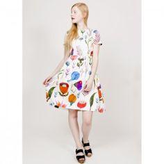Love the print on this W La Casita de Wendy Dress