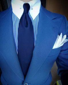 Je n'ai pas pris de photos récemment, c'est donc le vieux jour du jour. Gents Fashion, Mens Fashion Suits, Mens Suits, Fashion Outfits, Collared Shirt Outfits, Suit Accessories, Jackett, Suit And Tie, Well Dressed Men
