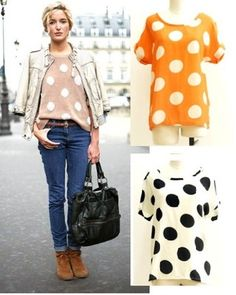 Cute spotted top