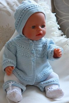 Baby born is a very applicable doll that fits most of Malfrid's models. Design: Målfrid Gausel
