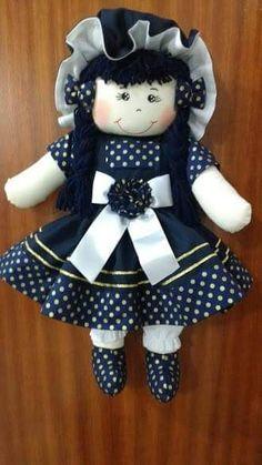Handmade Dolls Patterns, Doll Patterns Free, Doll Sewing Patterns, Bathroom Crafts, Waldorf Dolls, Felt Toys, Felt Animals, Cute Dolls, Fabric Dolls