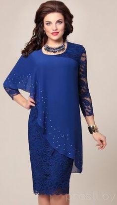20c4c2cdc7 Модели вечерних платьев для полных женщин и девушек - фото Vestidos De