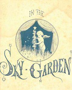 in the sky garden.