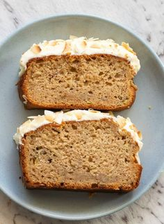 Coconut Flour Banana Bread is a thick and moist quick bread made with no grains and no dairy! Coconut Flour Banana Bread, Coconut Bread Recipe, Zucchini Banana Bread, Coconut Flour Recipes, Healthy Banana Bread, Banana Bread Recipes, Almond Flour, Coconut Quick Bread, Baked Banana