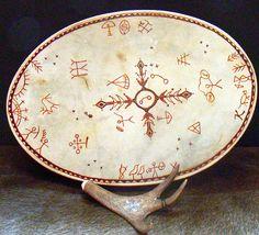 lapland shaman drum by Clouberry Market, via Flickr