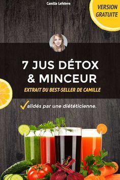 Les jus sont une excellente façon nettoyer quotidiennement son corps. Camille, notre diététicienne, a choisir les meilleurs jus détox pour exrtacteurs...
