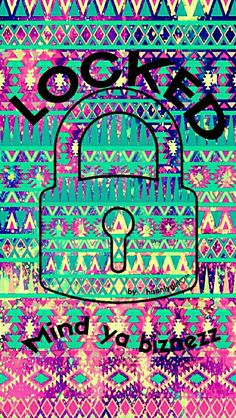LOCKED tribal galaxy wallpaper I created for the app CocoPPa.