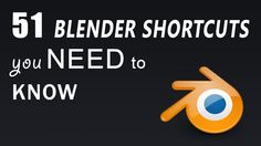 51 Blender Shortcuts you need to know