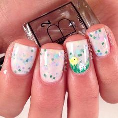 Fun easter nail art :)