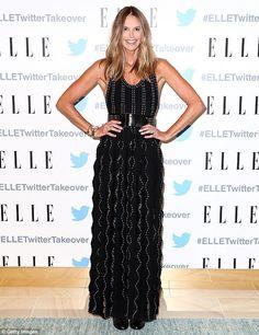 Stunner alert:During the evening, Elle stunned as she slipped her slender…