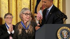 President Obama awarded his last Presidential Medal of Freedom — the highest US honor given to a civilian — in a packed ceremony on Tuesday, according to The New York Times. Margaret Hamilton, the...