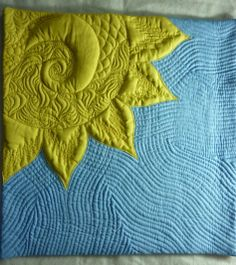 the quilting....