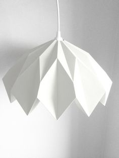 Retro Pendant Lampshade by GreenDesignLab on Etsy, $38.00
