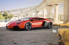 Lamborghini Aventador LP700 Liberty Walk PUR