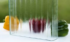 Pilkington Profilit™ Wave – the first wave-shaped channel glass. Channel Glass, One Wave, Natural Light, Waves, Range, Colours, Texture, Mugs, Tableware